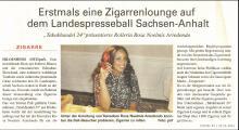 Zigarrenevent beim 20. Landespresseball Sachsen-Anhalt 2011